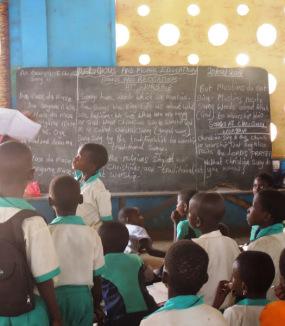 2 aule nel Ghana